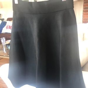 Ann Taylor XS black circle skirt